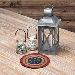 Liberty Stars Flag Braided Trivet