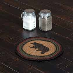 Wyatt Bear Braided Trivet