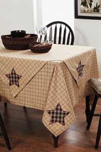 Bingham Star Tablecloth - 40 x 40