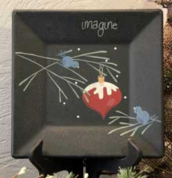 Birds and Ornament Plate - Imagine
