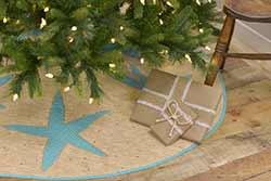 Nerine Christmas Tree Skirt - 48 inch