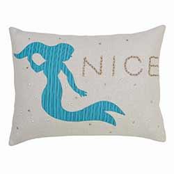 Nerine Mermaid Decorative Pillow