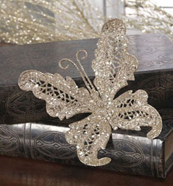 Clip-on Butterfly Ornament
