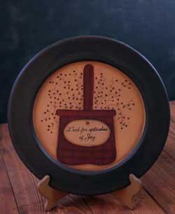 Basket of Blessings Plate - Joy