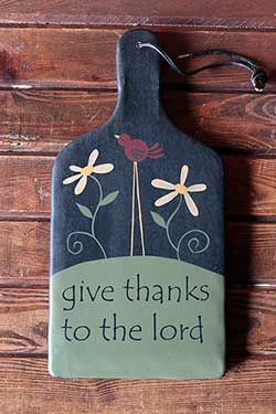 Give Thanks To the Lord Paddle