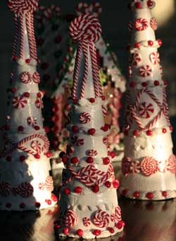 Candy Sprinkles Peppermint Cone