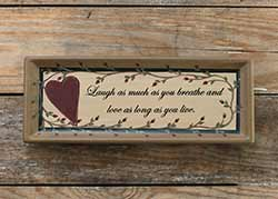 Laugh & Love Tray
