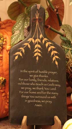 Humble Prayer Hanging Paddle