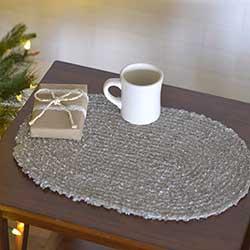 Dyani Silver Placemats (Set of 6)