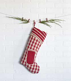 Gretchen Christmas Stocking - Long