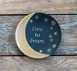 Dare to Dream Primitive Plate