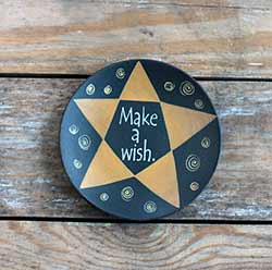 Make a Wish Primitive Plate