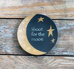Shoot For the Moon Primitive Plate