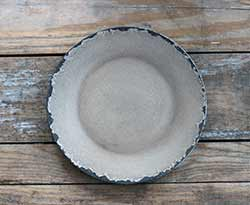Ivory Chippy Paint Wood Plate