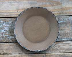 Mustard Chippy Paint Wood Plate