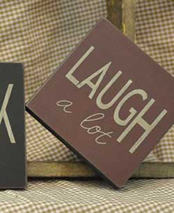 Laugh Sign (Choose color)