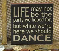 We Should Dance Sign