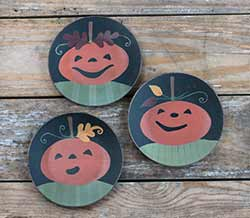 Smiling Jacks Plates (Set of 3)