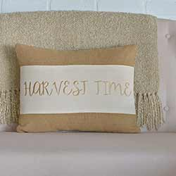Harvest Time Decorative Pillow