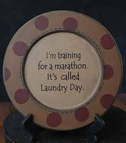 Laundry Day Plate