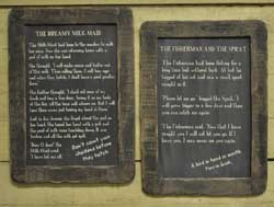 Fisherman & Sprat Folk Tale Blackboard