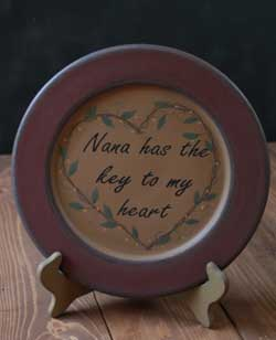 Key To My Heart Plate