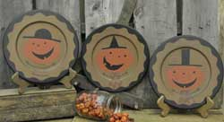 The Hearthside Collection Silly Jack Plates (Set of 3)