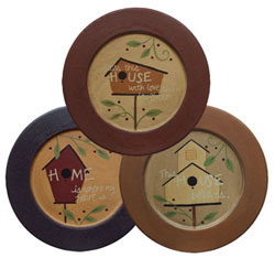 Birdhouse Home Plate