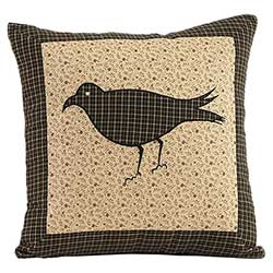 Kettle Grove Crow Decorative Pillow (16 inch)