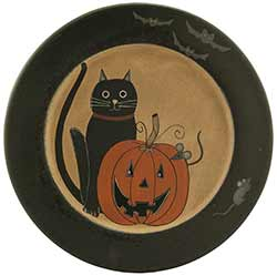 Black Cat & Jack Primitive Plate