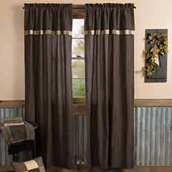 Kettle Grove Panel with Attached Valance Block Border
