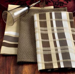Chocolate Brown Kitchen Towel