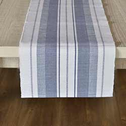 Samantha Blue 90 inch Table Runner