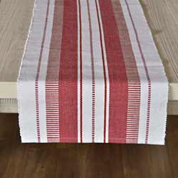 Samantha Red 90 inch Table Runner
