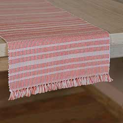 Madeline Red 72 inch Table Runner