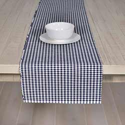 Tara Navy Blue 90 inch Table Runner