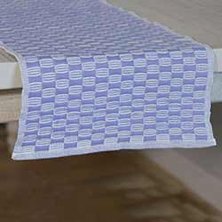 Chandler Blue 72 inch Table Runner