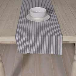 Classic Stripe Blue 72 inch Table Runner