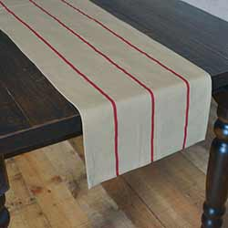 Lauren Rouge Red 90 inch Table Runner
