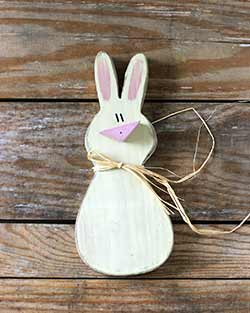 Primitive Bunny Wall Decor