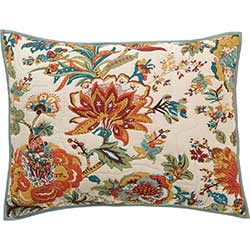 Meredith Floral Quilted Standard Sham