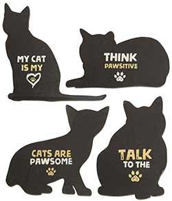 Cat Magnets (Set of 4)