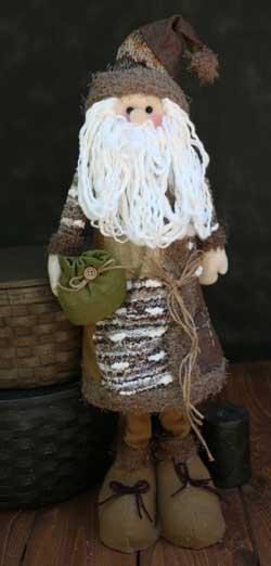 Santa Winter Fleece Stander