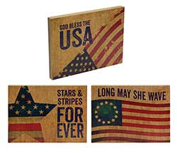 Americana Shelf Sitter
