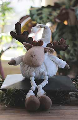 Mr. Moose with Button Legs
