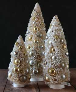 Gold & Silver Bottlebrush Tree