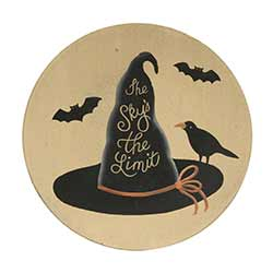 Witch Hat Plate