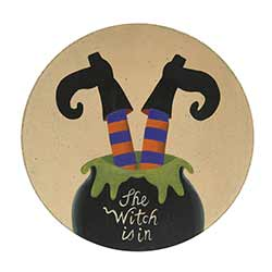 The Witch is In Plate
