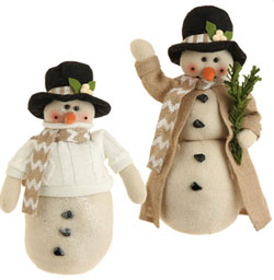 Emerald Cottage Snowman