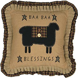 Baa Baa Blessings Pillow